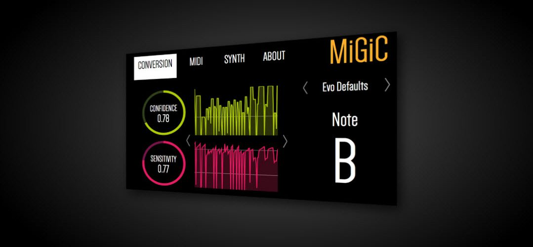 Image - MiGiC Guitar-to-MIDI Conversion Software